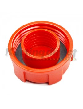 Fuel Tank Cap  Red Plastic   Suit Euro Style Tank 3L and 5L