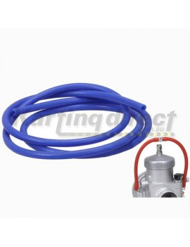 Carburettor overflow Silicone Hose Blue OD  5mm ID  3mm