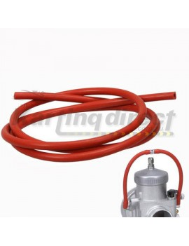 Carburettor overflow Silicone Hose  Red  OD  5mm ID  3mm