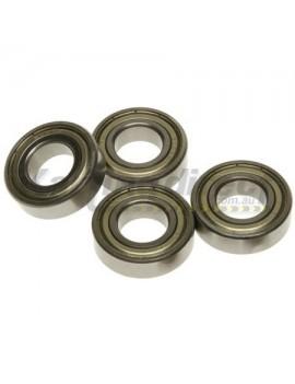 Front Wheel Bearings suit 17mm Set 4 OD 35mm x ID 17mm x 10mm    6003ZZ