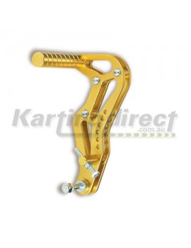 Accelerator Pedal  Gold Alloy