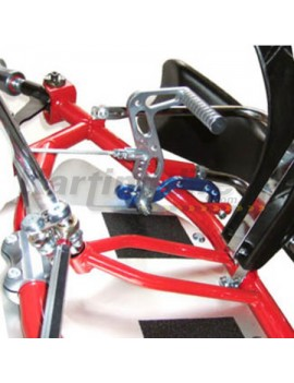 Pedal Back Bracket 2pc Set Pedal Extention Kit