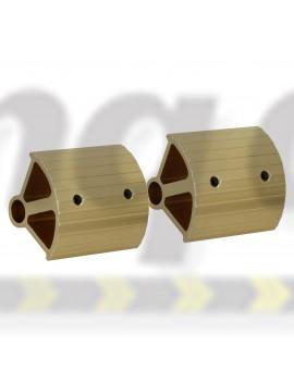 European Alloy Pedal Extensions. Suit bar type pedals. Magnesium