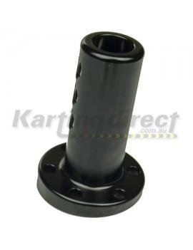 Steering Boss Angled 6 degree Extended Black  20mm Shaft