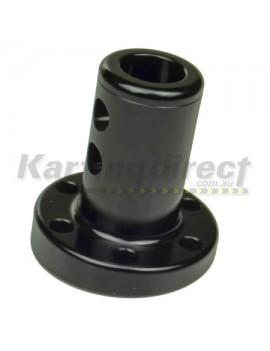 Steering Boss Angled 6 degree – Black 19mm Shaft