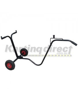Trolley 2 wheel. Removeable handle for easy transport
