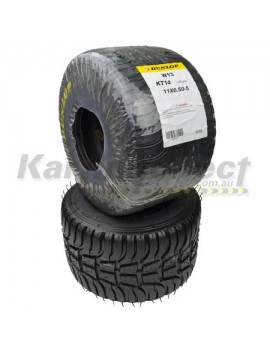 Dunlop KT14 Wet Rear KT14W13 11x6.50-5 Suit TAG/R and CLUBMAN