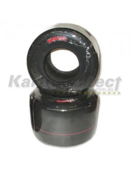 Rear Tyre  MG Red