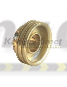 Water Pump Axle Pulley High Quality 30mm  Billet Alloy GOLD