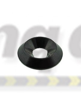 Washer  Counter Sunk Alloy  Black Anodised  M6 ( Small )