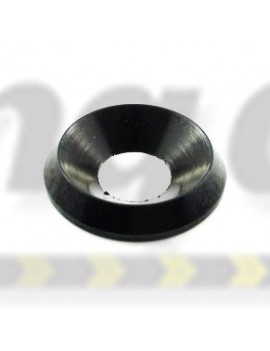 Washer  Counter Sunk Alloy  Black Anodised  M8 ( Large )