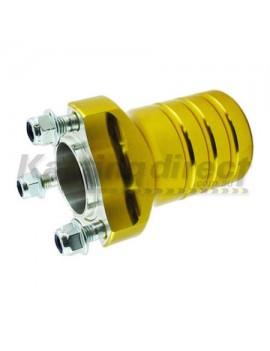 Front Mini Hub Gold Suit 17mm x 90mm stub axles