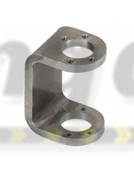 C Section of Stub Axle WELD ON part Italian made 22mm