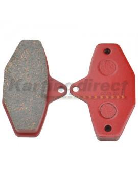CRG Ven 8 Brake Pads - RED Compound - Compatible