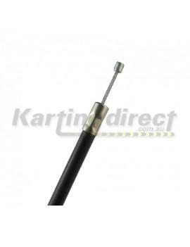 Accelerator Cable  Lug  Black  Long