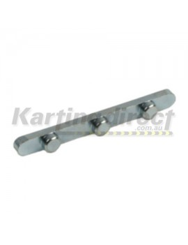 Axle Key 6mm 3 Peg