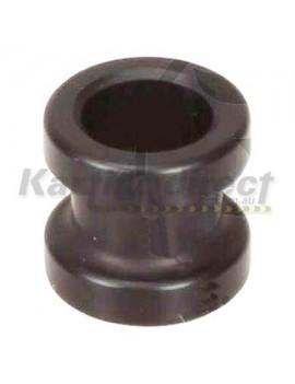 Fuel Line Holder - black alloy by  Kartelli Corse