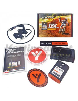 Mylaps TR2 Transponder MX Motocross includes 12 months subscription  NOT FOR KARTS, NOT ROAD BIKES or NOT RACE CARS