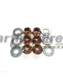 Wheel Nuts  tubular  Pack of 12