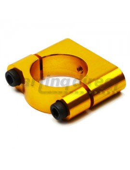 Mount Clamp  Battery or Radiator  Gold 32mm